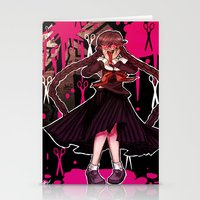 dangan ronpa Stationery Cards featuring Syo by mad-maddie