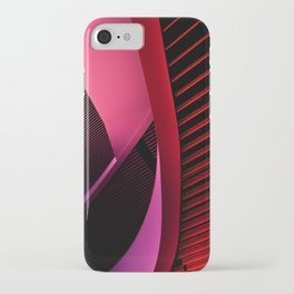 Urban Beauty in Pink iPhone Case