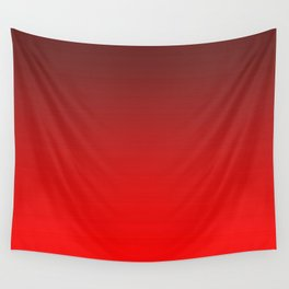 Tinted Red Wall Tapestry