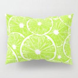 Lime slices pattern Pillow Sham