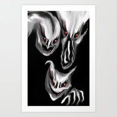 Welcome to my dreams Art Print