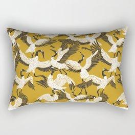 The ritual of the crane dance Rectangular Pillow