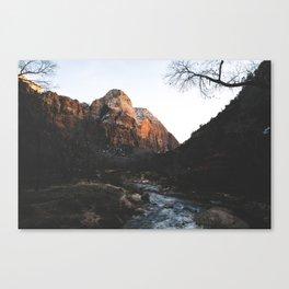 Zion 3. Canvas Print