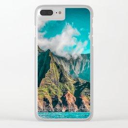 Na' Pali Coast, Kauai, Hawaii Clear iPhone Case