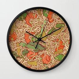 Stir Fry Wall Clock