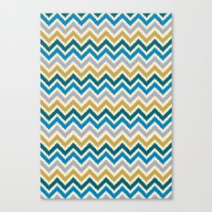 Chevron 3 Canvas Print
