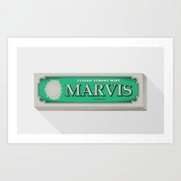 Marvis Art Print