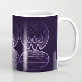 Moon Typography - Ultra Violet Coffee Mug