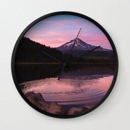 Mt Hood, Oregon Wall Clock