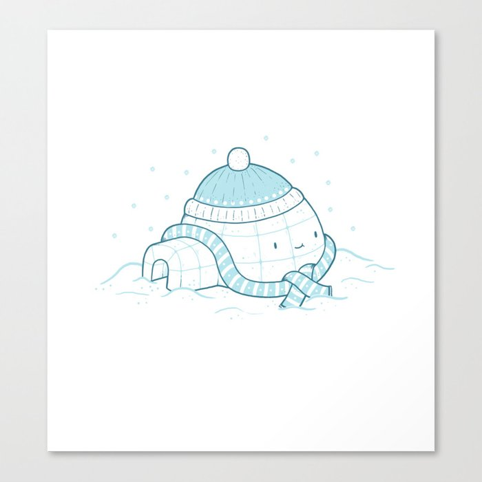 Cold Winters Canvas Print