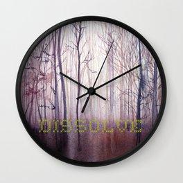 Dissolve Wall Clock