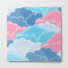 Pillows in the Sky (Clouds no.2) Metal Print
