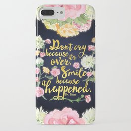 Dr. Seuss - Don't Cry iPhone Case