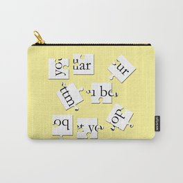 bottom dollar puzzle - yellow Carry-All Pouch