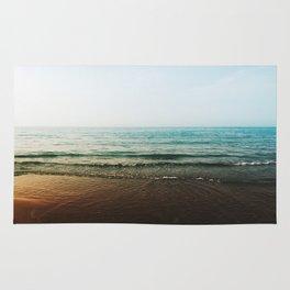 Vivid Morning Waves Rug