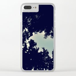 DayTime-Night Forest Clear iPhone Case