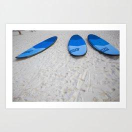 Paddle Boards Art Print