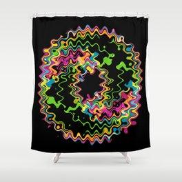 Funky splash Shower Curtain