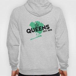 Queens NYC - Green Hoody