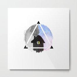 evening house Metal Print