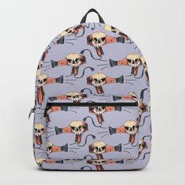 hair dryer skull Backpack
