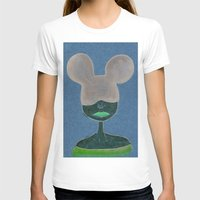 minnie T-shirts featuring Minnie by WickedNifty