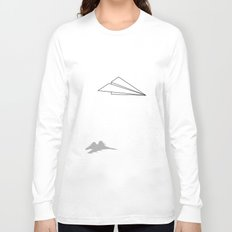 Paper Airplane Dreams Long Sleeve T-shirt