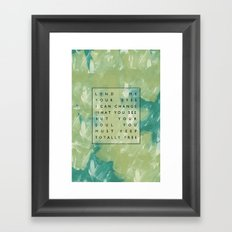 Awake My Soul II Framed Art Print