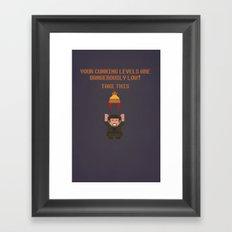 The Legend of Jayne Framed Art Print