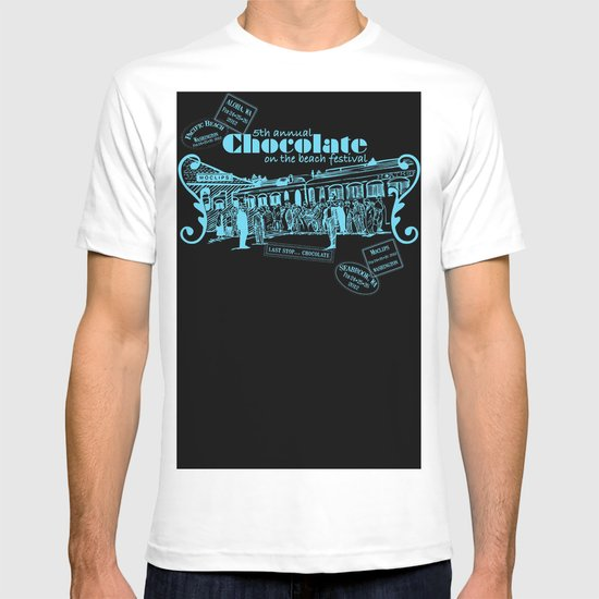5th Annual Chocolate on the Beach Festival T-shirt
