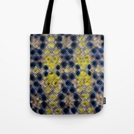 Blue Gold Heritage Tote Bag