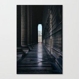 Paris Columns Canvas Print