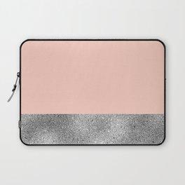 Peach like a diamond Laptop Sleeve