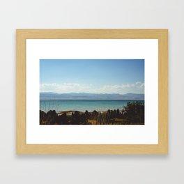 Bear Lake Idaho Framed Art Print