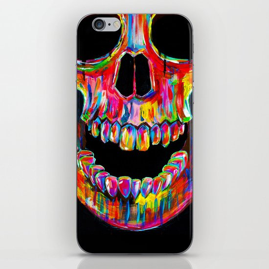 Chromatic Skull iPhone & iPod Skin