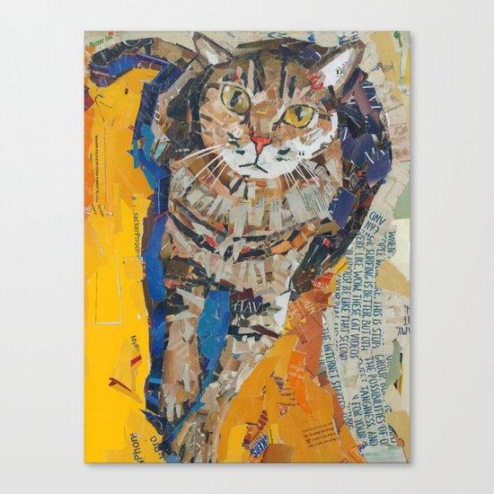 Tobin the kitty Canvas Print