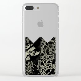The Rice Pattern II Clear iPhone Case