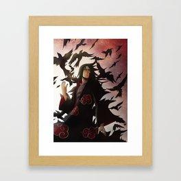 The raven warrior Framed Art Print