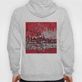 philadelphia city skyline Hoody