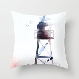 North,South,West and East Throw Pillow