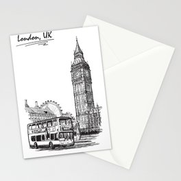 Sketch from London 01 Stationery Cards