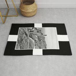 Cornish Tin Mine And Flag Rug