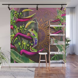 Red Eyed Tree Frog Wall Mural