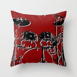 RED SET Throw Pillow