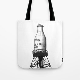 Montreal's Guaranteed Milk Co Limited Tote Bag