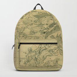 Atlas, Designed to Illustrate the Geography of the Heavens, plate IV (1850) Backpack