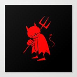 minima - sad devil Canvas Print