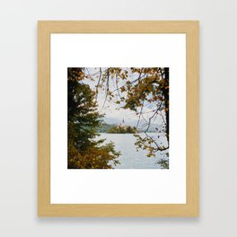 Lake Bled, Slovenia Framed Art Print