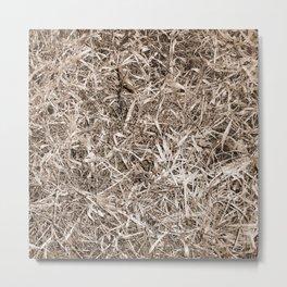 Grass Camo Metal Print