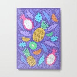 Summer Fruit Metal Print